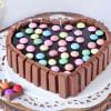 Heart Shape Kit Kat Cake (1 Kg)
