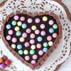 Buy Heart Shape Kit Kat Cake (Eggless) (Half Kg)