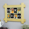 Gift Hero Dad Personalized Photo Frame