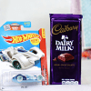 Hot Wheels Car with Cadbury Dairy Milk