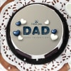 Buy I Love You Dad Father's Day Cake (Half Kg)