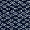 Shop Indigo Blue Patch Design Block Print Double Bed Cotton Quilt