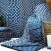Indigo Patchwork Reversible Print Double Quilt Online