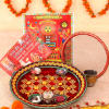 Karwa Chauth Hamper with Puja Thali