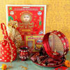 Karwa Chauth Shringar with Puja Hamper