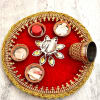 Karwachauth Poojan Thali with Accessories