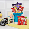 Kids Rakhi Set with Toy and Chocolate Basket