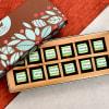 La Reine Mango Flavoured Dark Chocolate (12 Pcs)