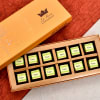 La Reine Paan Flavoured Dark Chocolates (12 Pcs)