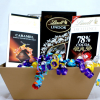 Lind CoCoa Dark Chocolate with Lind Truffles In a Gift Basket
