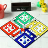 Ludo Game Board Coasters with Accessories & Personalized Holder