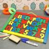 Magnetic Chalk & Dry-Erase Board for Kids