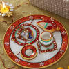 Marble Tikka Thali with Moli