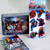 Marvel Avengers Assemble Tattoos with Magnets