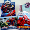Marvel Ultimate Spiderman Tattoos with Sticker and Puzzle