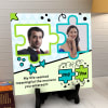 Me & You Personalized Ceramic Tile