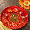 Meenakari Ganesha Thali