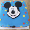 Mickey Mouse Spotty Cake (Eggless) (2.5 Kg)