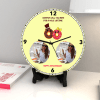 Gift Mine for a whole Lifetime Personalized Anniversary Clock