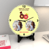 Mine for a whole Lifetime Personalized Anniversary Clock Online