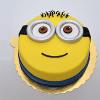 Minions Fondant Cake 1 Kg