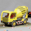 Mixer Truck Assembly Toy Made by Cardbord (35 Pieces)