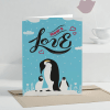 Mom's Love Personalized Greeting Card