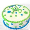 Monster Fondant Cake (Eggless) (4 Kg)