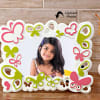 Multicolor Personalized Photo Frame