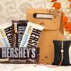 Multicolored Rakhi with Hersheys Chocolate in a Goodie Bag