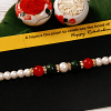 Multicolored Stones and Pearl Rakhi