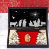 Nativity Scene Christmas Decor In Wooden Box