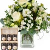 Natural Magic of Blossoms with honey gift set