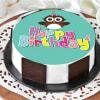 Owl Happy Birthday Cake (1 Kg) Online