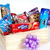 Pack of Cookies in Gift Basket