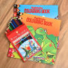Pencil Colors with Coloring Book Set