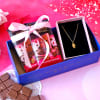 Pendant With Chocolates In Tray