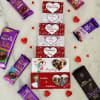Personalized Assorted Chocolates in Gift Bag
