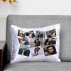 Gift Personalized collage Satin Cushion
