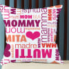 Personalized Cushion for Mommy