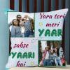 Personalized Friendship Photo Cushion