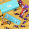Personalized Happy Birthday Chocolate  Gift Box