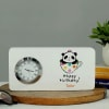 Personalized Happy Birthday Table Clock