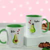 Personalized Love Ceramic Mug (Set of 2)