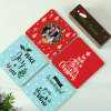 Gift Personalized Merry Coasters with Stand And Mug