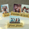 Personalized Photo Block Frame for Friend