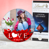Personalized Photo Frame with Lindt Chocolate