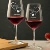 Personalized Wine Glasses with You're So Special Message