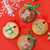 Personalized Wooden Christmas Wreaths