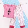 Pink My Star T-Shirt & Bottom Set for Girls